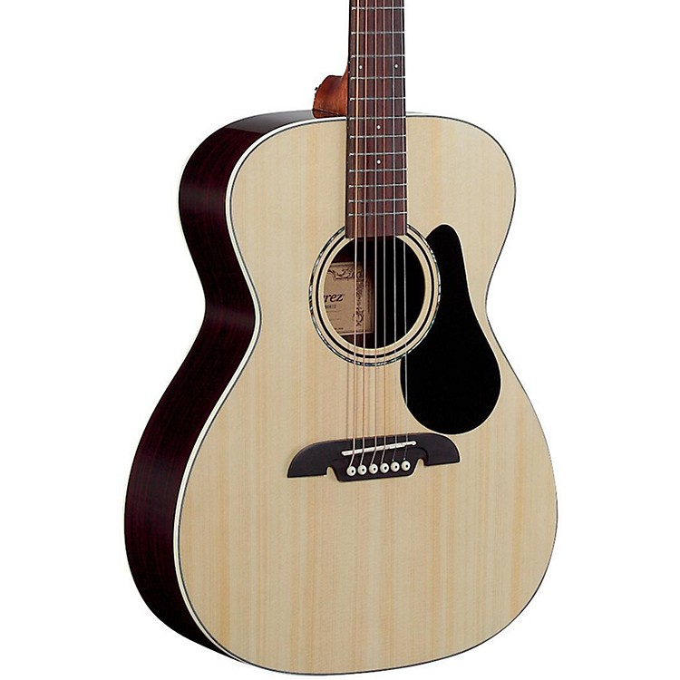 Alvarez RF27 OM/Folk Acoustic Guitar Natural