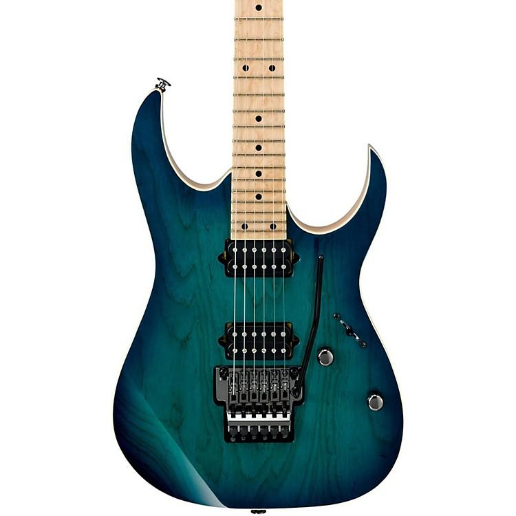 IbanezRG Prestige Series RG652AHM Electric GuitarNebula Green Burst
