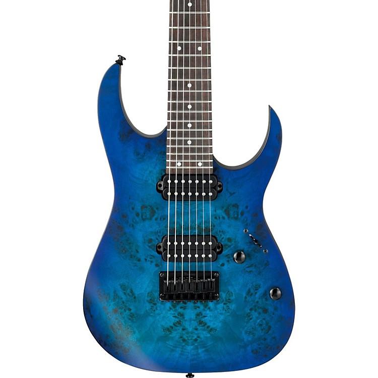 IbanezRG Series RG7421PB 7-String Electric GuitarFlat Sapphire Blue