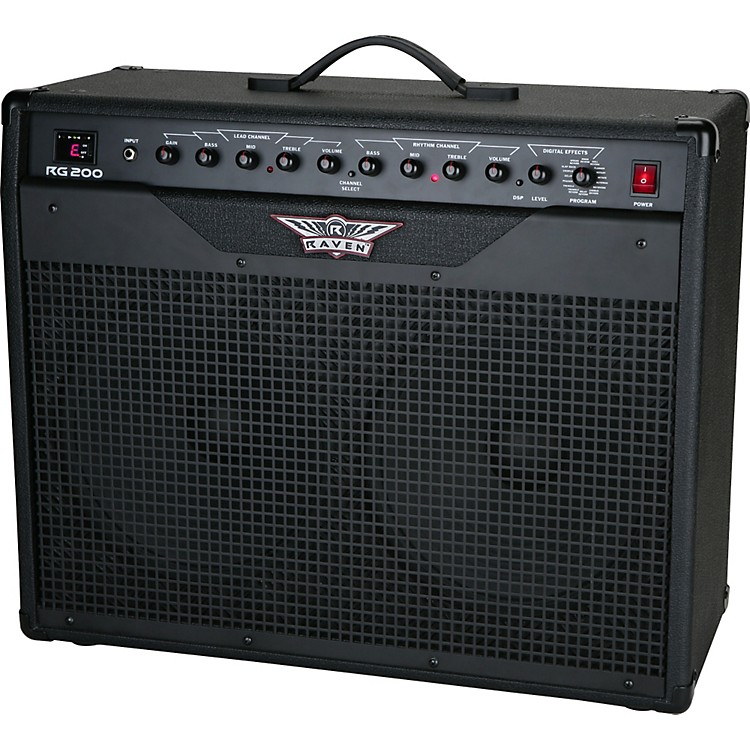 raven rg200 200w 2x12 guitar combo amp music123. Black Bedroom Furniture Sets. Home Design Ideas