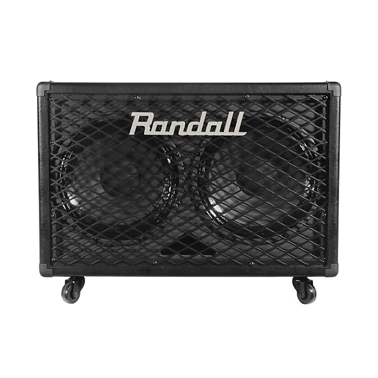 RandallRG212 2x12 100W Guitar Speaker CabinetBlack