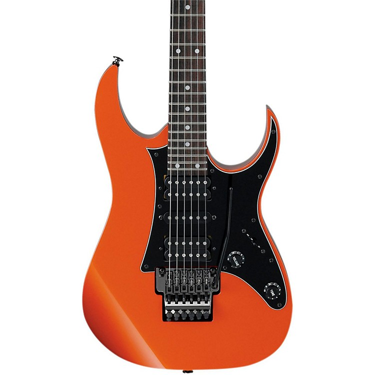 Ibanez RG655 Prestige RG Series Electric Guitar Firestorm Orange Metallic