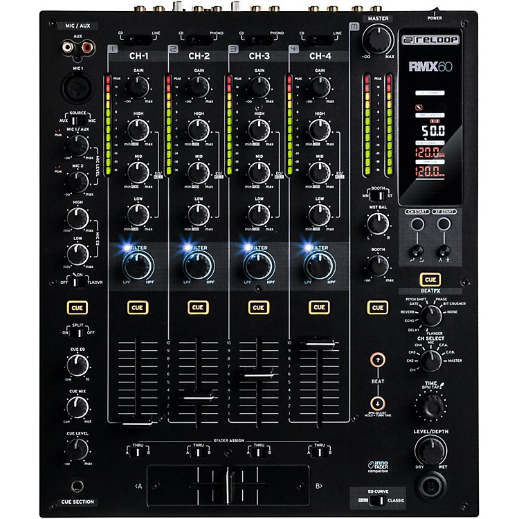 ReloopRMX-60 Digital 4+1 Channel Mixer with Effects