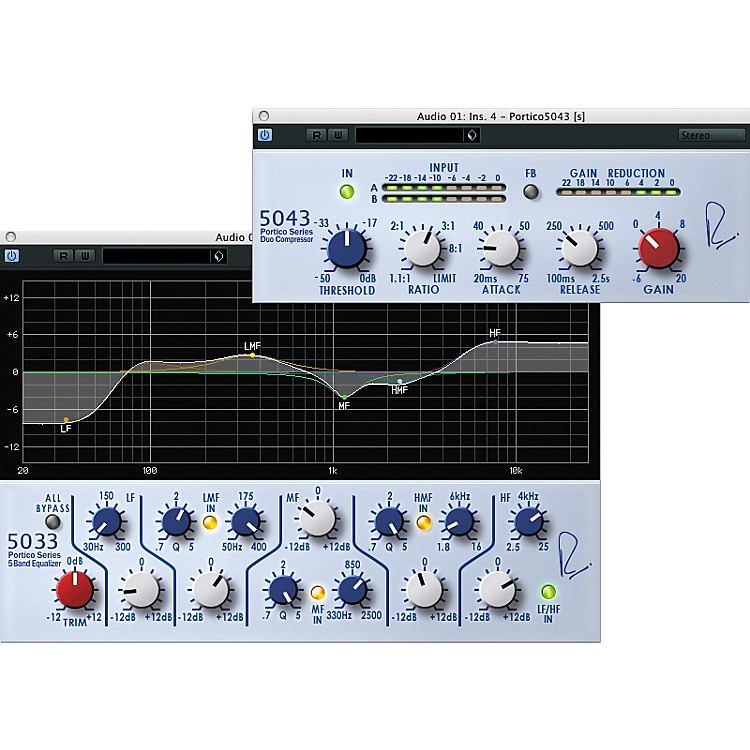 Steinberg RND Portico 5033 EQ/5043 Compressor Plug-In Bundle