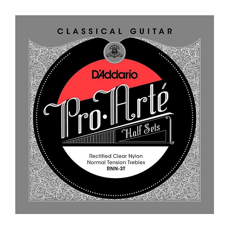 D'Addario RNN-3T Pro-Arte Normal Tension Classical Guitar Strings Half Set