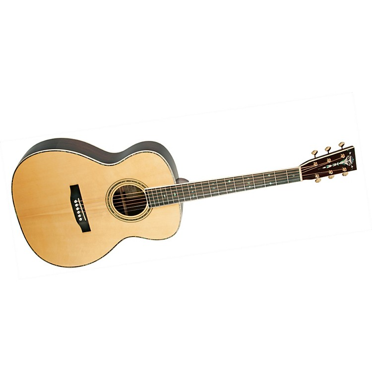 Recording KingRO-327 All Solid Wood Orchestra Acoustic Guitar