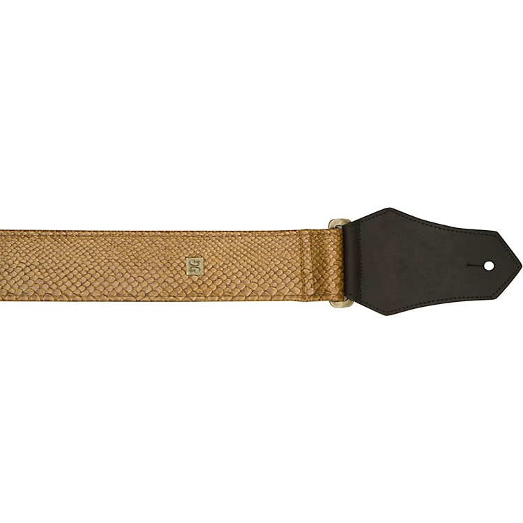 Get'm Get'm ROCO Guitar Strap 2 in. Gold