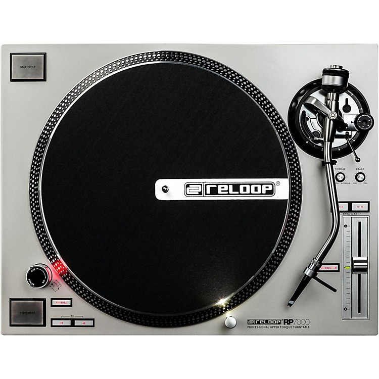 Reloop RP-7000 High-Torque Turntable Silver