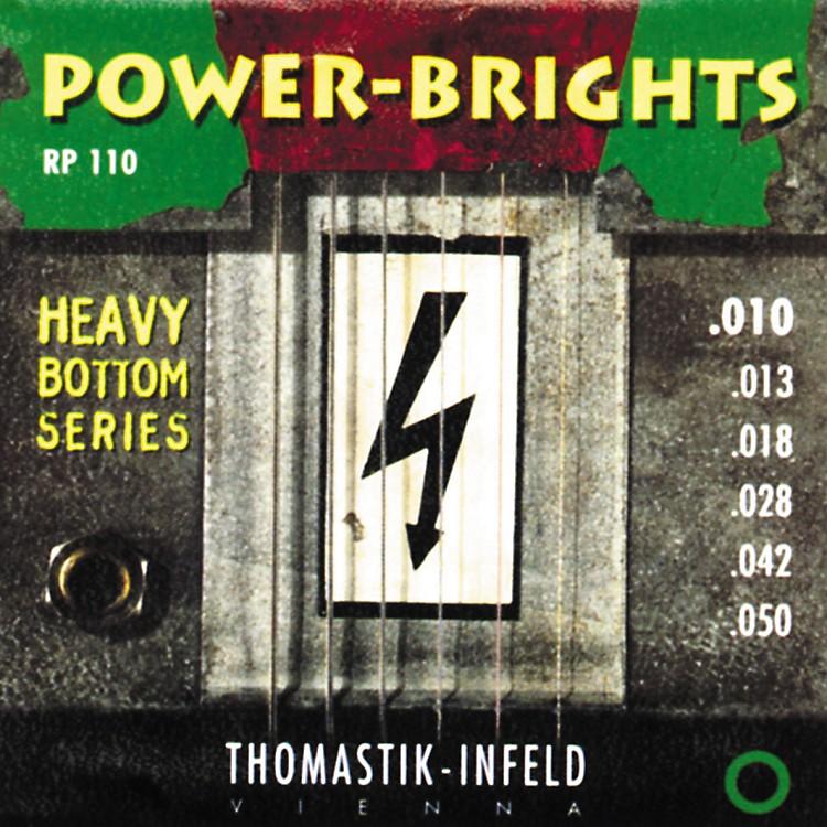 ThomastikRP110 Power-Brights Heavy Bottom Medium-Light Electric Guitar Strings