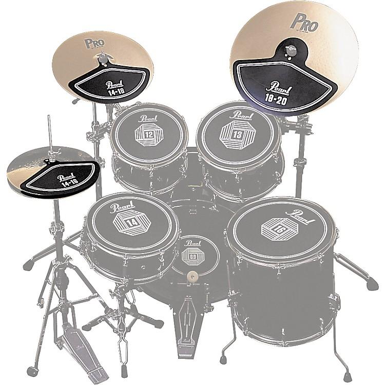 PearlRP40C Rubber Cymbal Pad Set