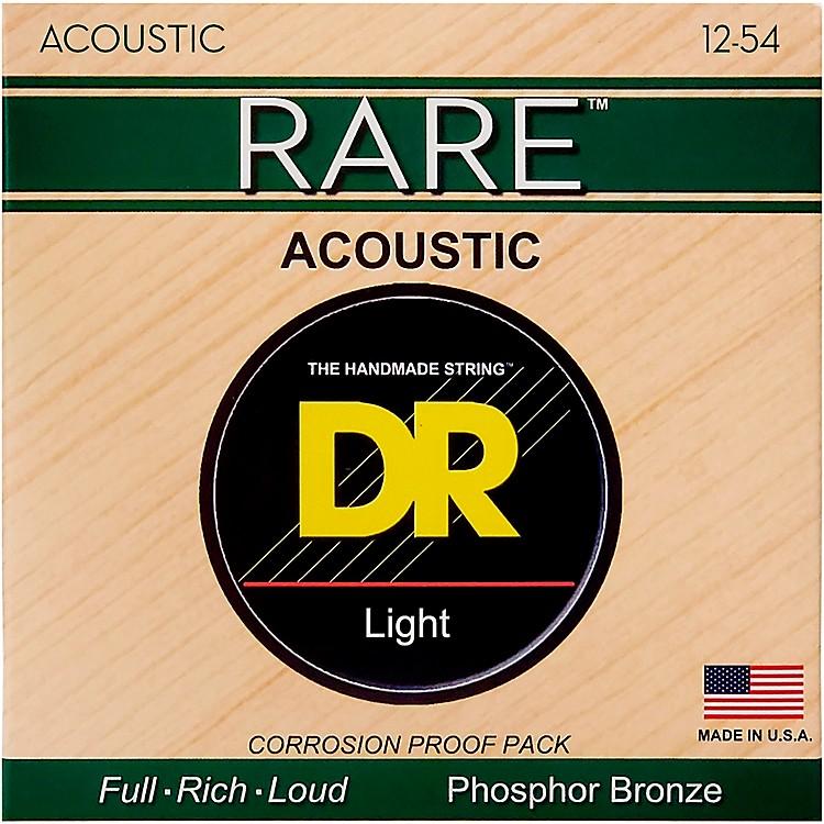 DR StringsRPM-12 Light RARE Phosphor Bronze Acoustic Guitar Strings