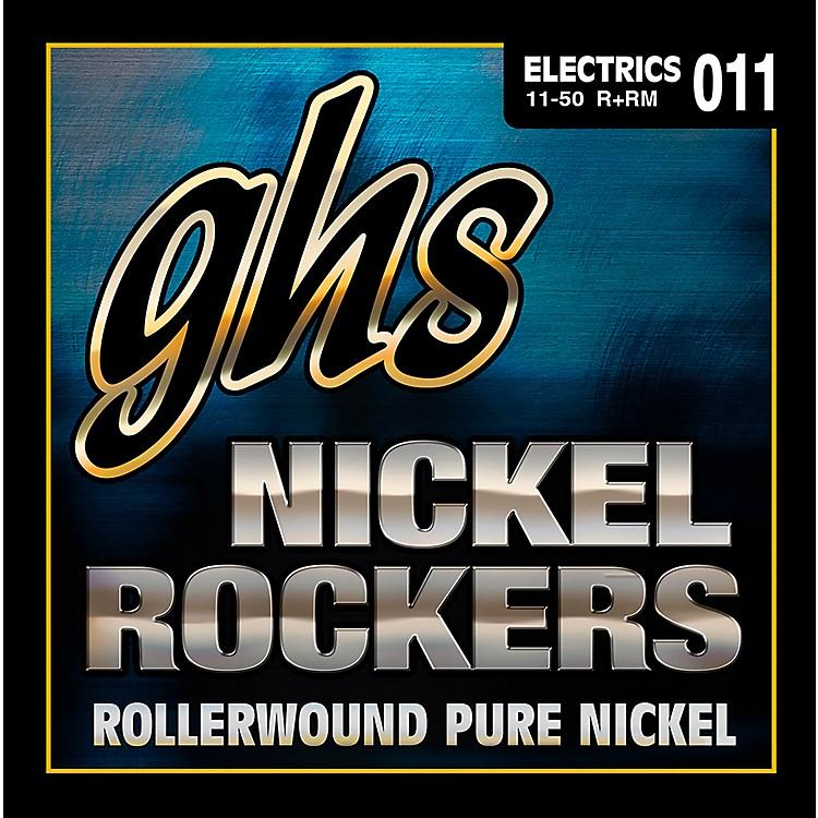 GHSR+RM Nickel Rockers Roundwound Medium Electric Guitar Strings
