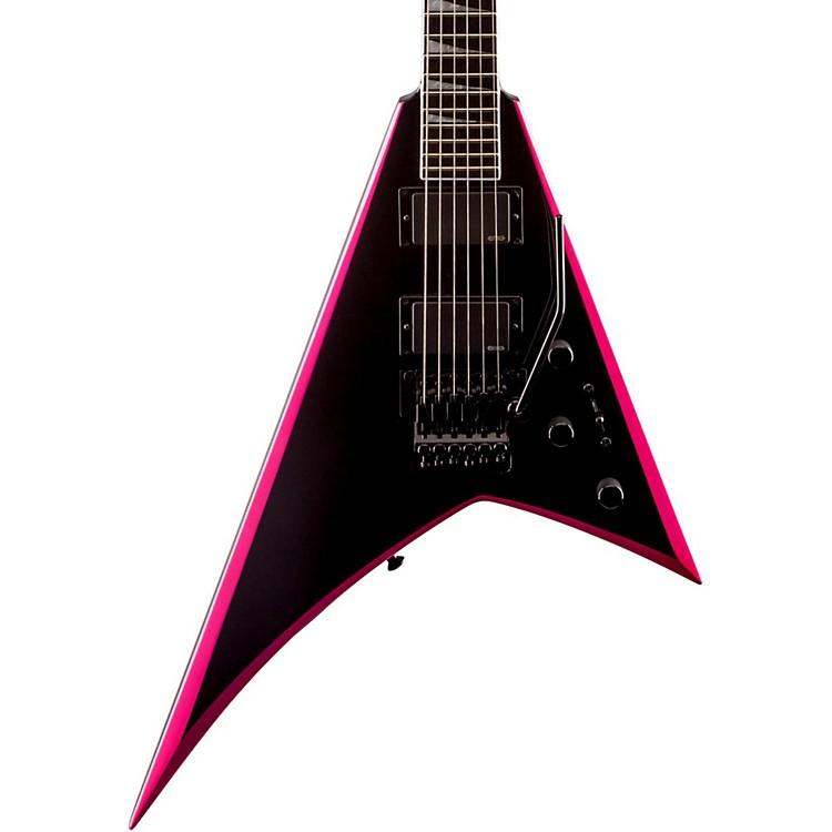 JacksonRRXMG Rhoads X Series Electric GuitarBlack with Pink Bevels