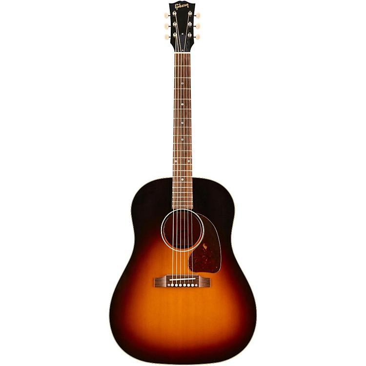 GibsonRS45ATN17 1950's J-45 Antiquity Acoustic-Electric GuitarSunset Burst