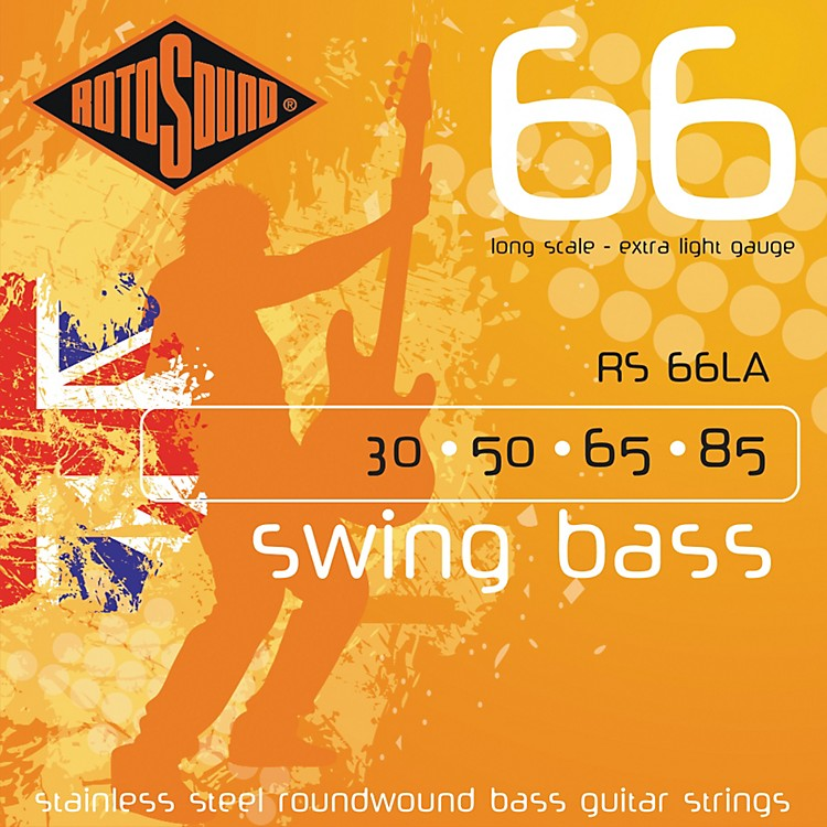 RotosoundRS66LA Extra Light Long Scale Bass Strings