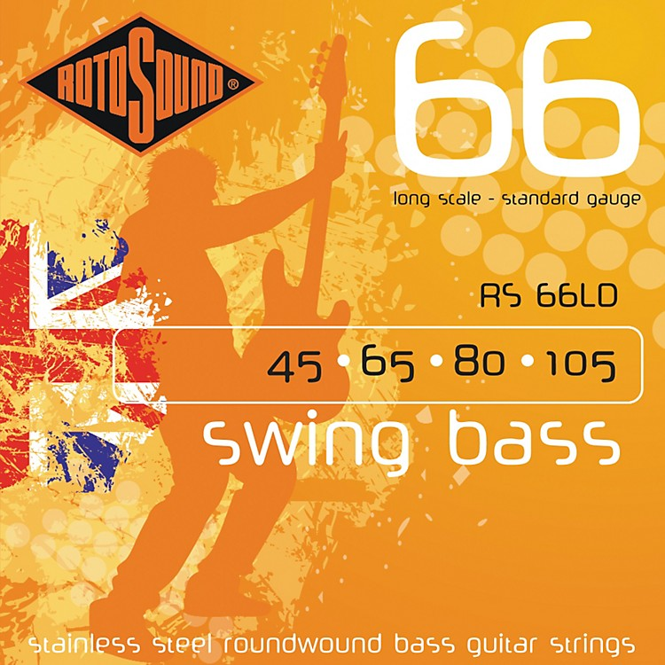 RotosoundRS66LD Long Scale Swing 66 Bass Strings