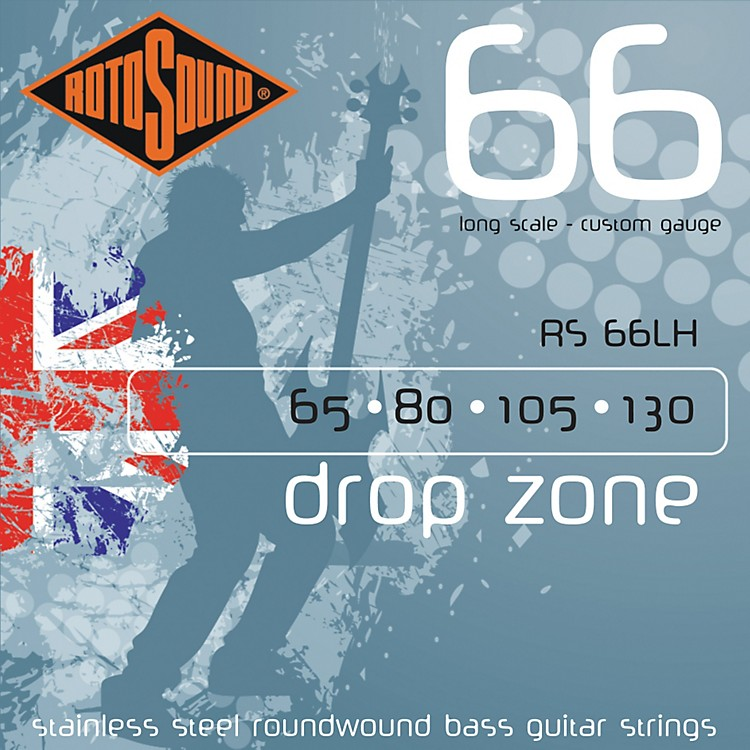 RotosoundRS66LH Bass Strings Long Scale