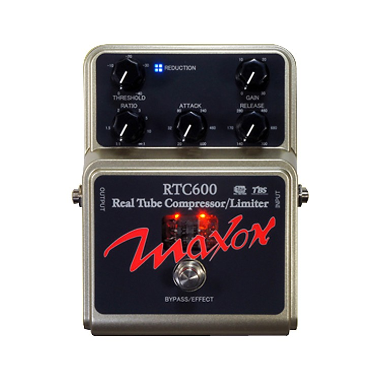 Maxon RTC600 Real Tube Compressor Guitar Effects Pedal