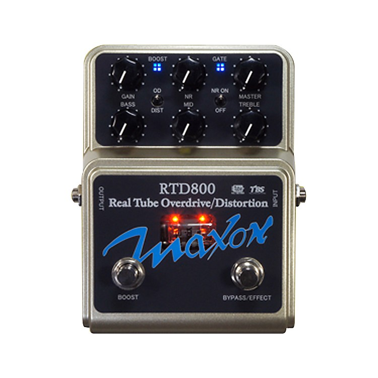 MaxonRTD800 Real Tube Overdrive and Distortion Guitar Effects Pedal