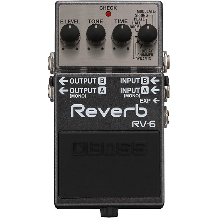 Boss RV-6 Digital Delay/Reverb Guitar Effects Pedal