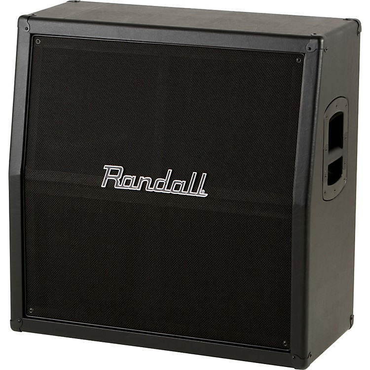 Randall RV Series RV412 240W 4x12 Guitar Speaker Cabinet Black Slant