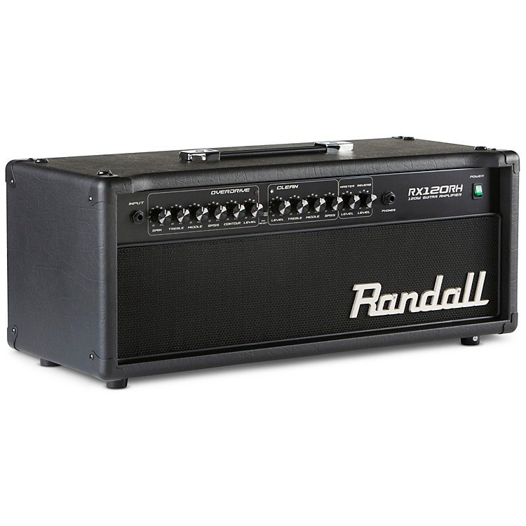 Randall RX Series RX120RH 120W Guitar Amp Head Black