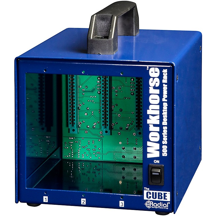 Radial Engineering Radial Workhorse Cube Desktop Power Rack