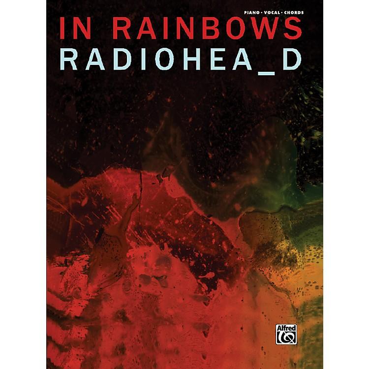 AlfredRadiohead In Rainbows Piano Vocal Guitar Book