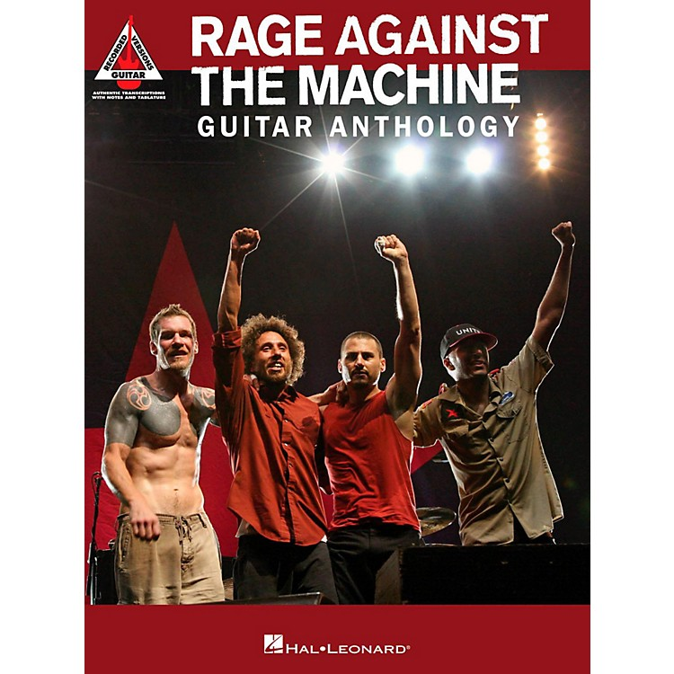 Hal LeonardRage Against The Machine Guitar Anthology