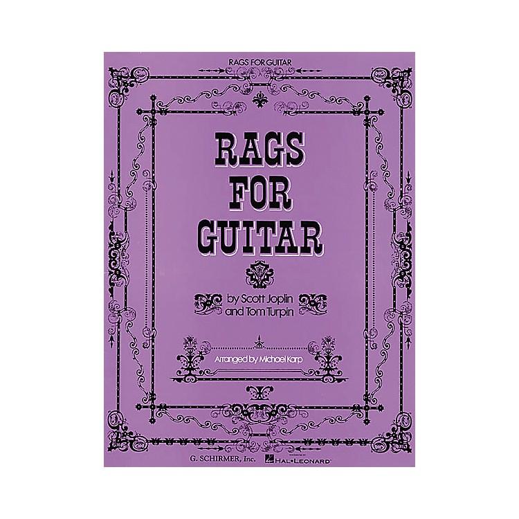 G. SchirmerRags for Guitar Tab Songbook