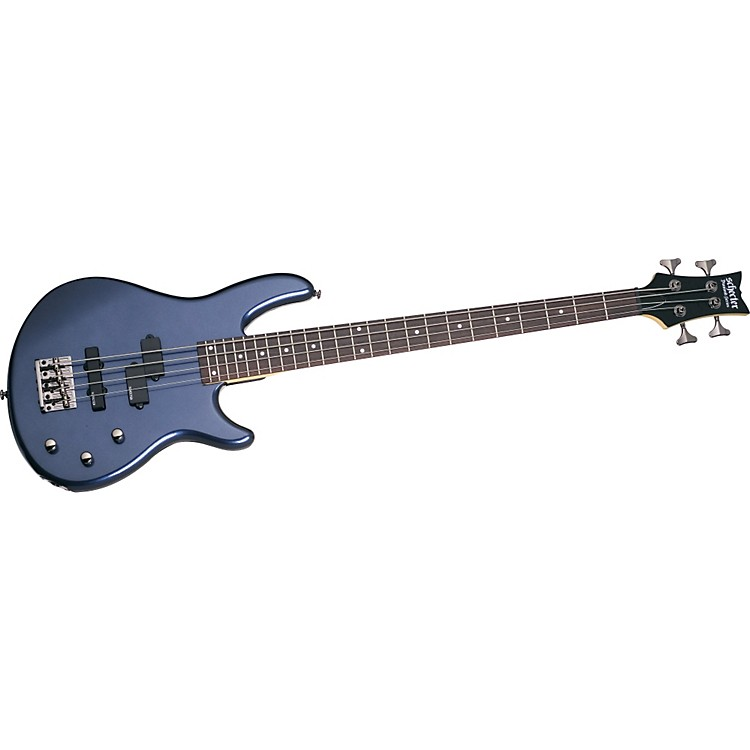 Schecter Guitar Research Raiden Deluxe 4 Electric Bass Guitar Dark Metallic Blue