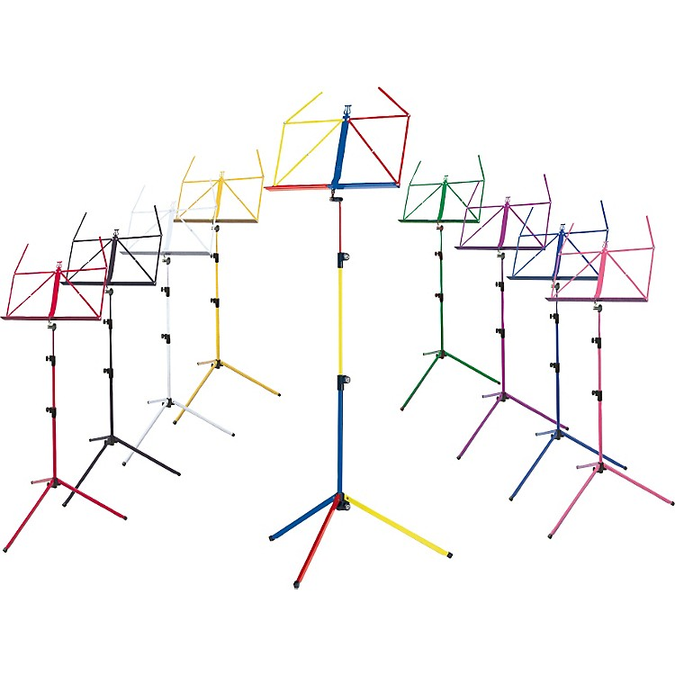K&M Rainbow Music Stand Blue