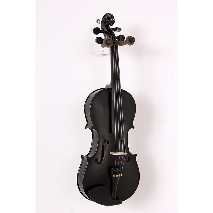 Bellafina Rainbow Series Black Violin Outfit 3/4 Size 888365603438
