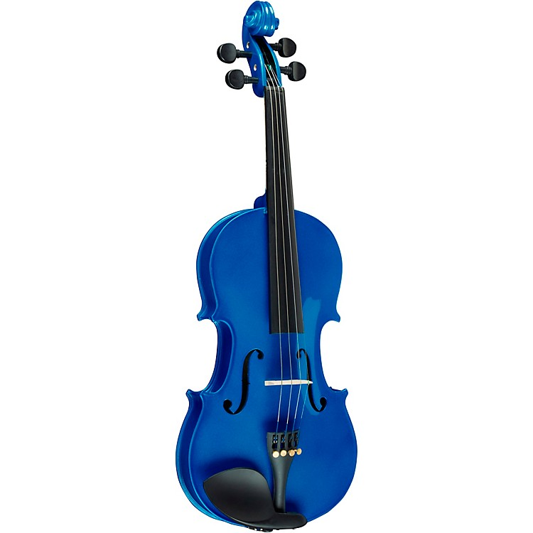 Bellafina Rainbow Series Blue Violin Outfit 1/8 Size