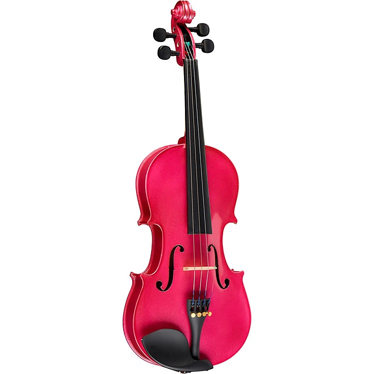 Bellafina Rainbow Series Rose Violin Outfit 1/2 Size
