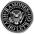 C&D Visionary Ramones Logo Heavy Metal Sticker