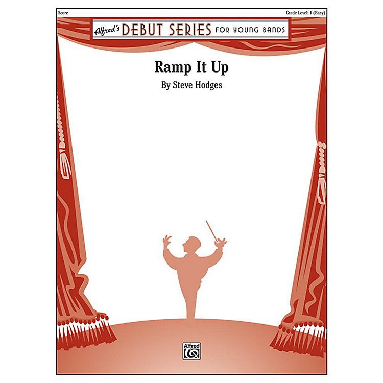 AlfredRamp It Up Concert Band Grade 1 Set
