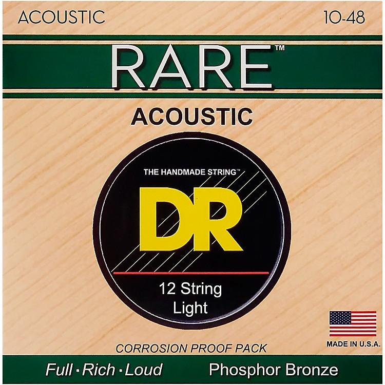 DR StringsRare Phosphor Bronze Lite 12-String Acoustic Guitar Strings
