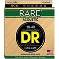 DR Strings Rare Phosphor Bronze Lite Acoustic Guitar Strings