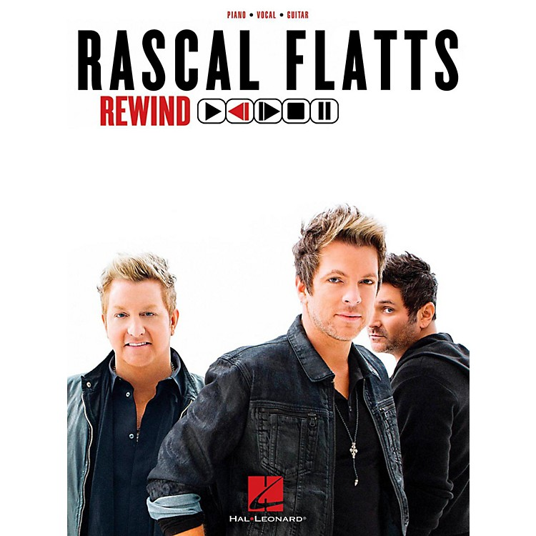 Hal Leonard Rascal Flatts - Rewind Piano/Vocal/Guitar