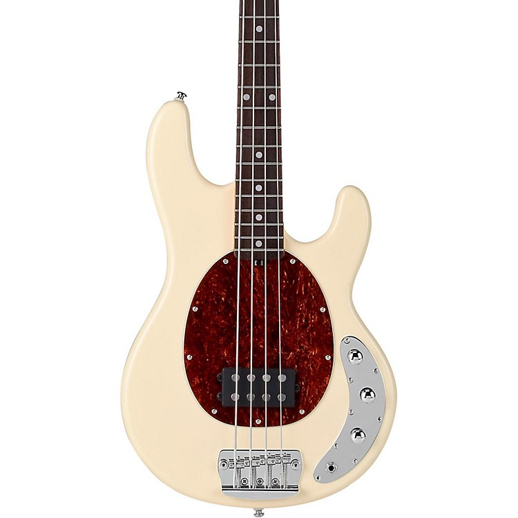 Sterling by Music ManRay34 Classic Active Electric Bass GuitarVintage creme