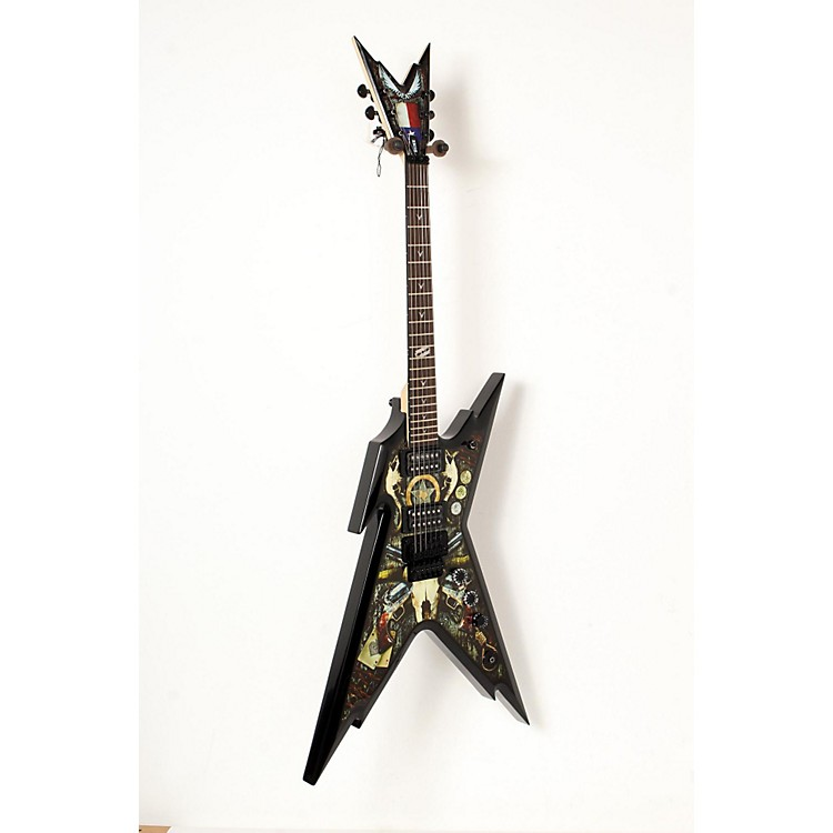 DeanRazorback Dimebag Lone Star Electric GuitarCustom Graphic888365836959