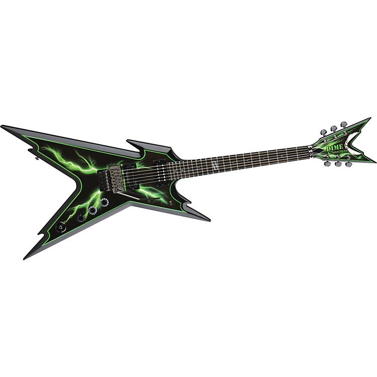 Dean Razorback Slimebolt Electric Guitar Slime Bolt