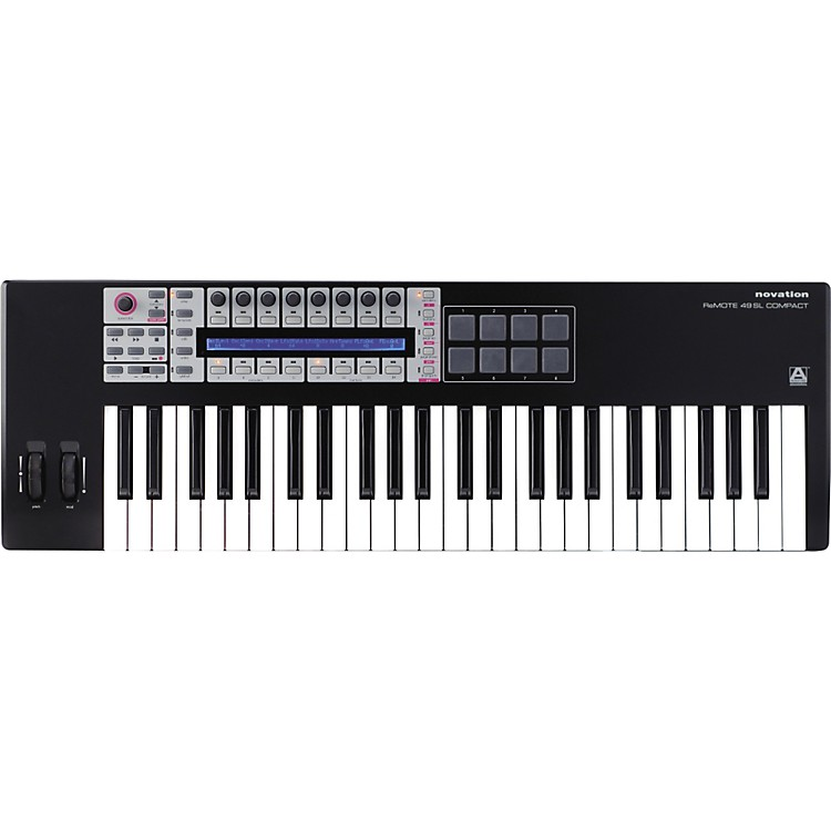NovationReMOTE SL COMPACT 49-Key USB MIDI Controller