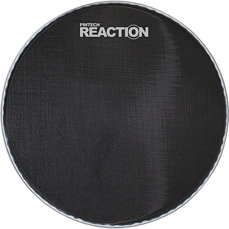 Pintech Reaction Series Mesh Bass Drum Head 24 in. Black