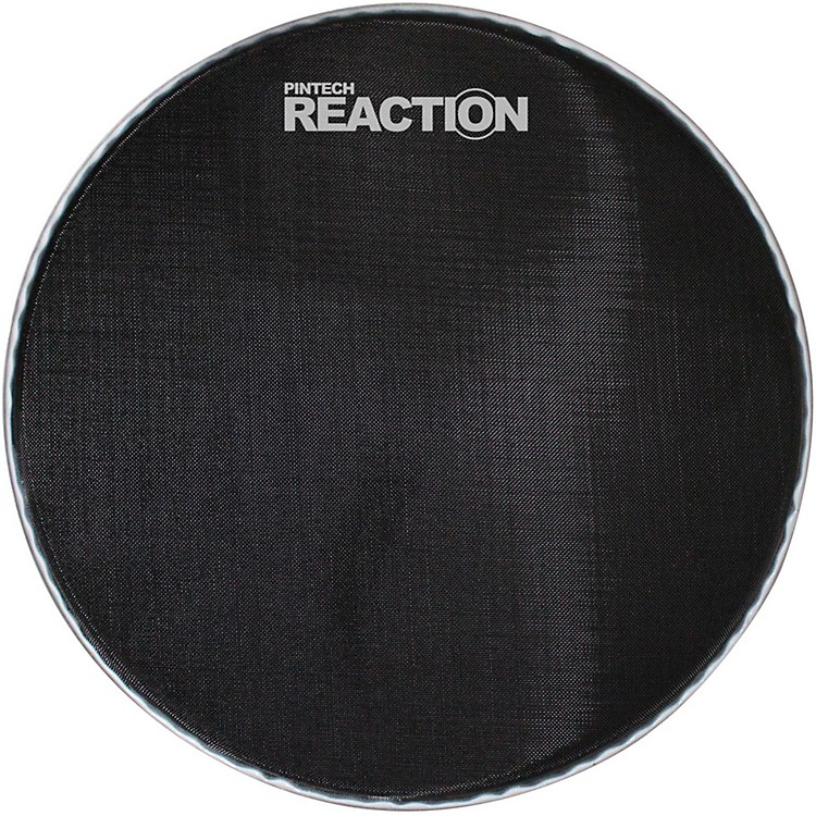Pintech Reaction Series Mesh Bass Drum Head 26 in. Black