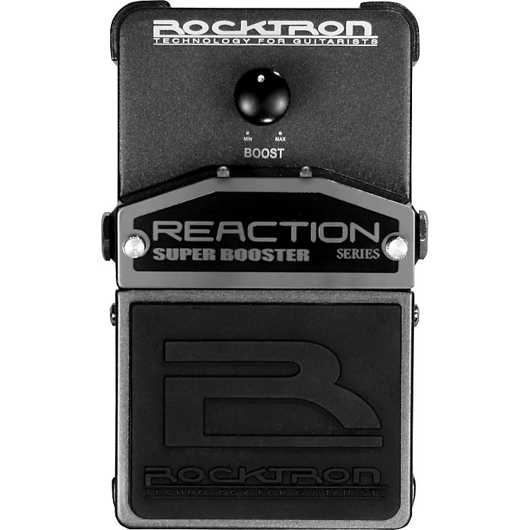 Rocktron Reaction Super Booster Guitar Effects Pedal