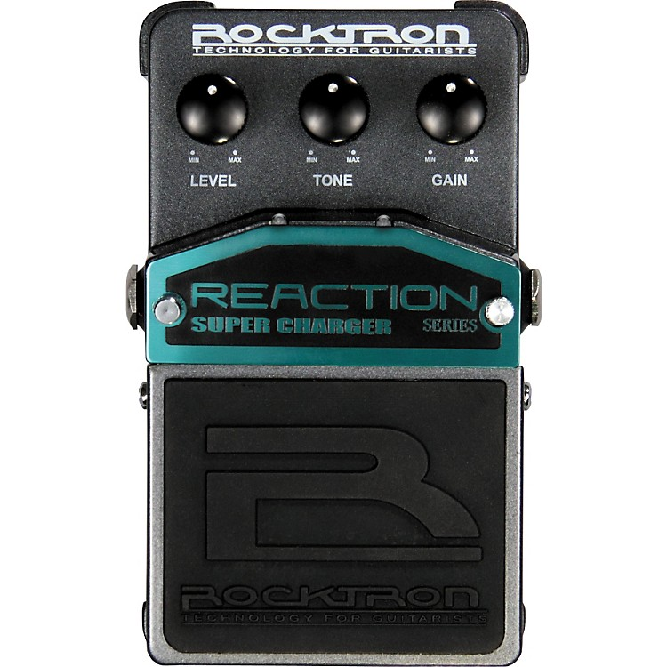 Rocktron Reaction Super Charger Overdrive Guitar Effects Pedal