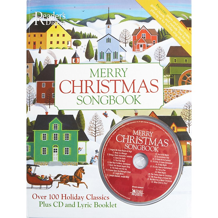 AlfredReader's Digest Merry Christmas Songbook Hardcover Songbook & CD