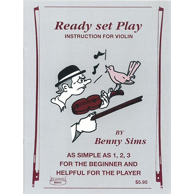 Morrell MusicReady, Set, Play Violin Book
